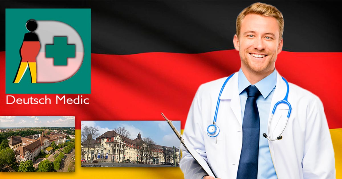 In DeutschMedic's reliable hands - German quality